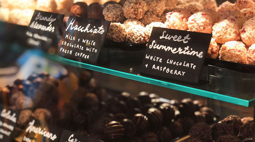shop Montezuma Essex organic chocolate