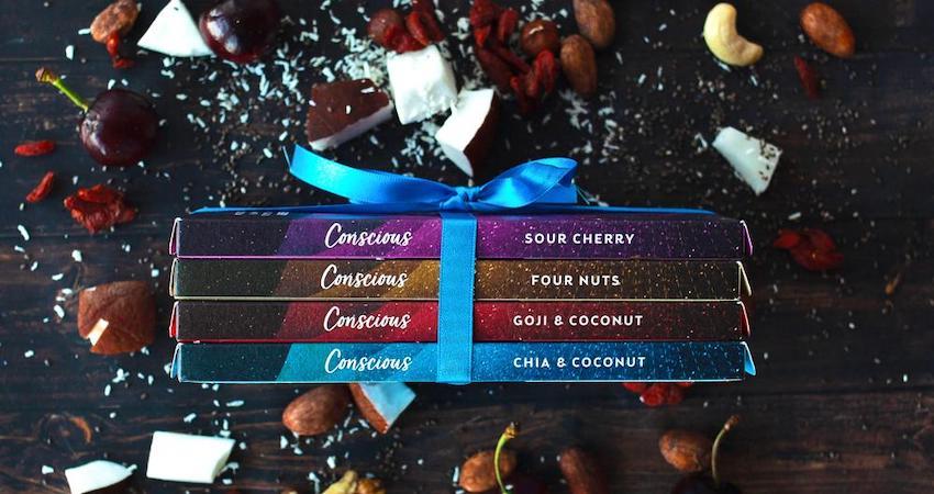 conscious chocolate in store Essex