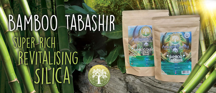 Bamboo Tabishir for hair silica supplement
