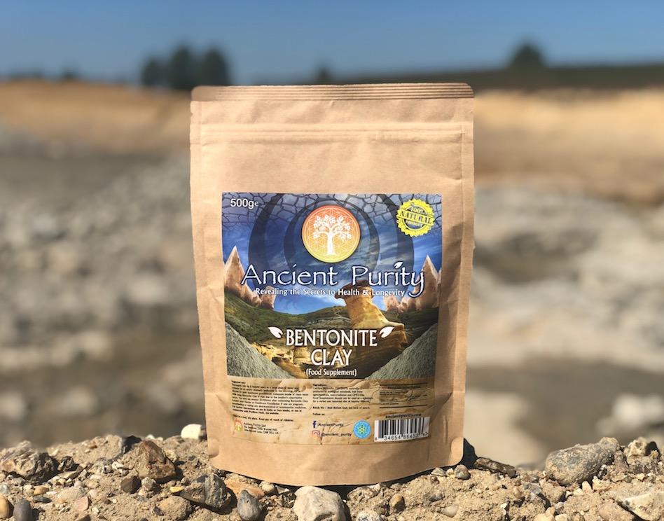 organic bentonite clay UK