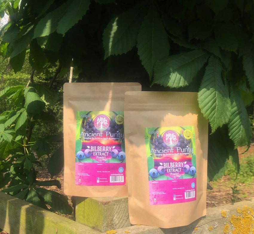 bilberry powder extract blueberry UK