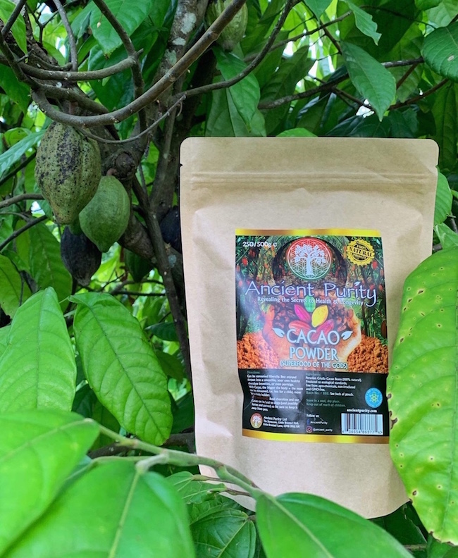 criolla cacao organic fresh powder