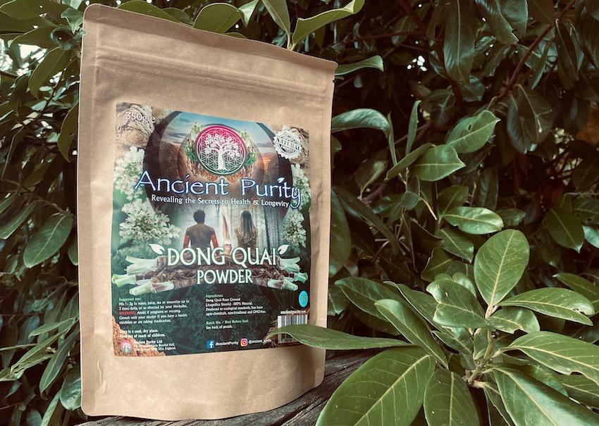 organic dong Quai powder women