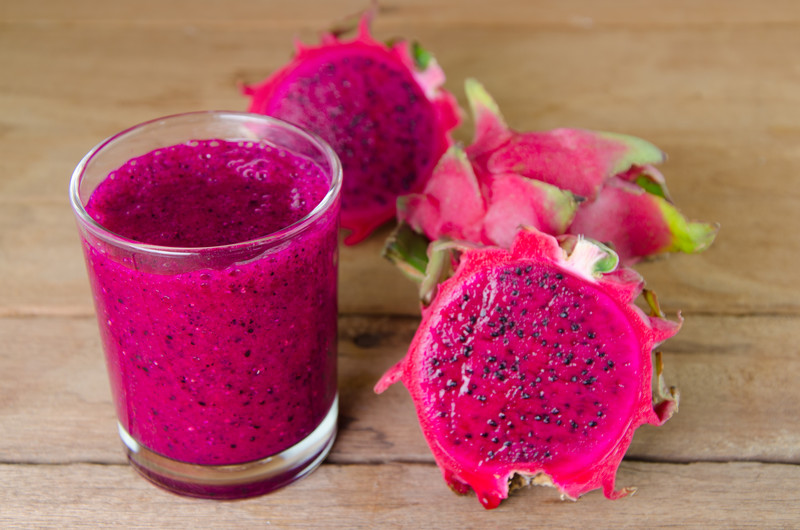 vegan smoothie dragon fruit