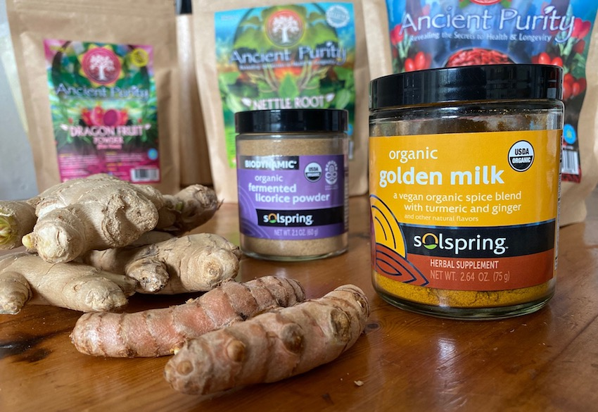 organic golden milk hot drink UK