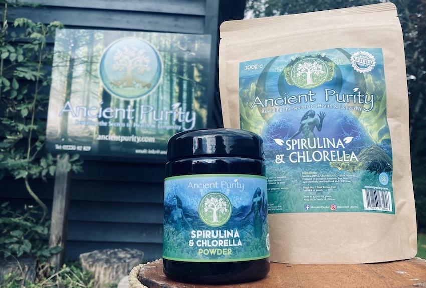 best Spirulina supplement chlorella with Spirulina