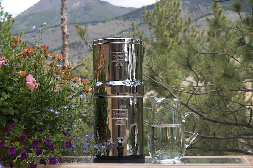 big berkey gravity water filter UK