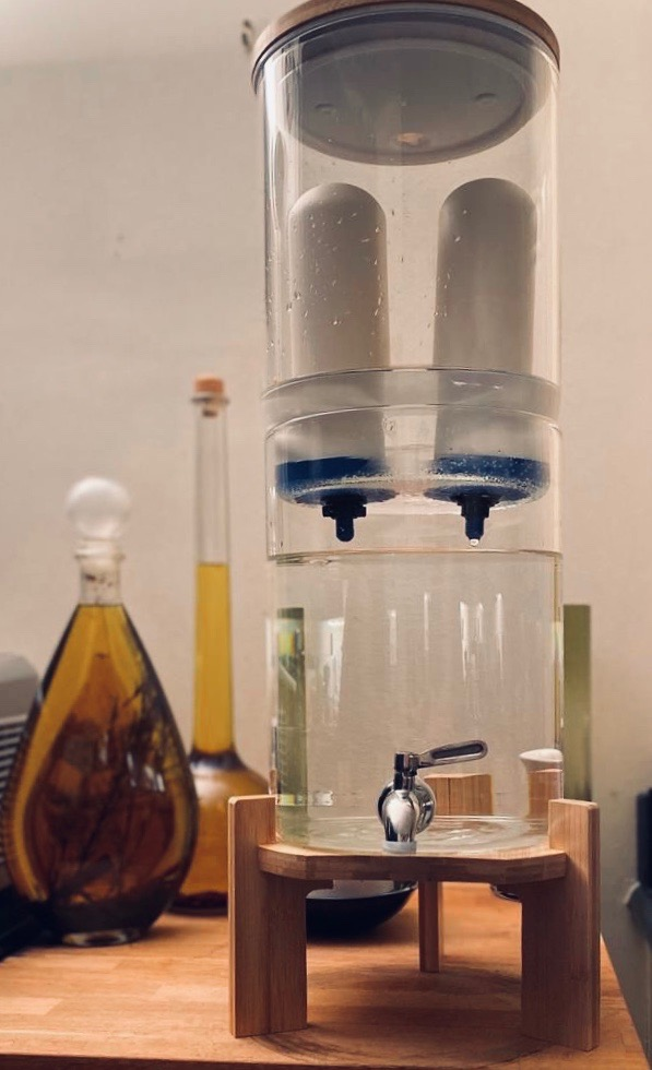 gravity water filter UK made Ancient Purity