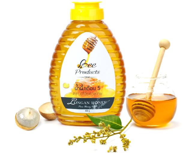 Thailand longan fruit honey