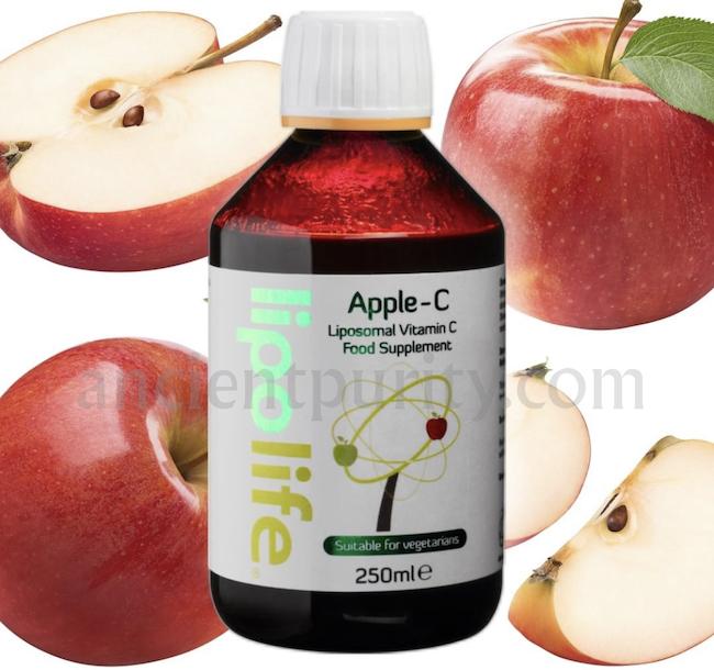 lipolife apple vitamin c Liposomal