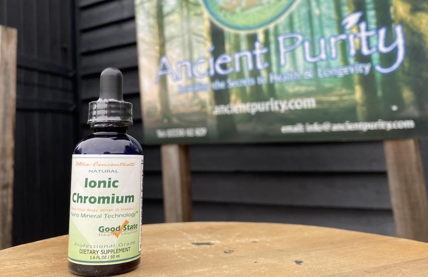 Good state chromium ionic supplement
