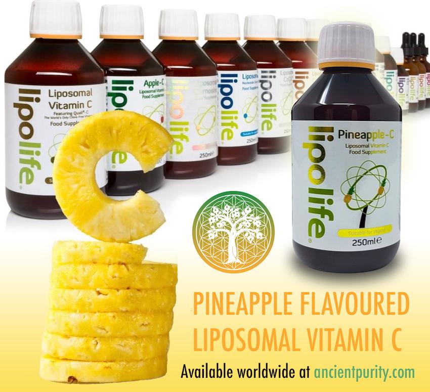 lipolife pineapple c Liposomal vitamin c