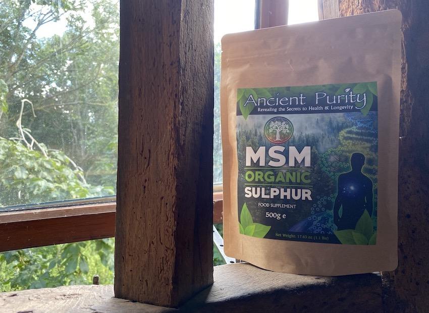 MSM organic sulphur