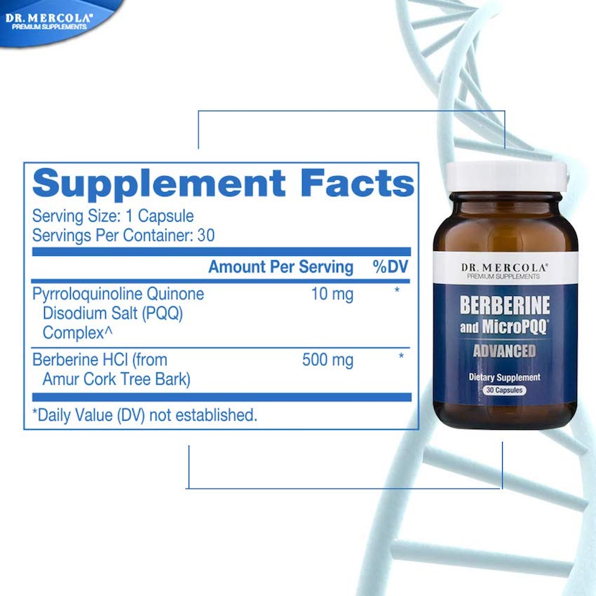 Dr Mercola Berberine MicroPQQ Amazon UK