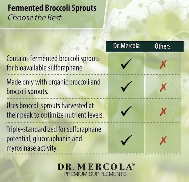 dr mercola broccoli benefits UK