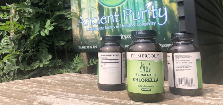 dr mercola products fermeted chlorella supplement