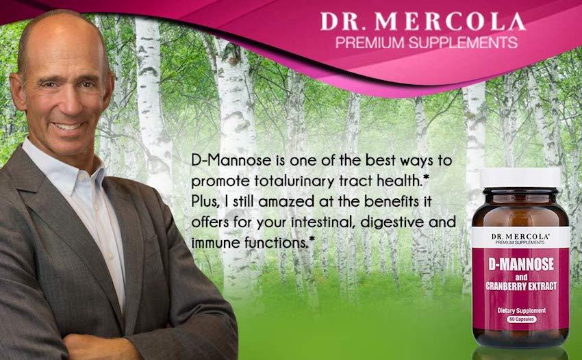mercola cranberry D-mannose