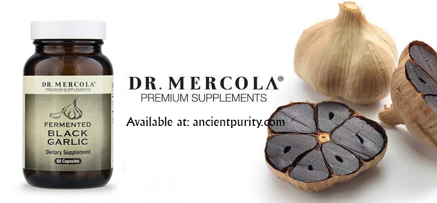 black aged garlic supplement Dr Mercola UK