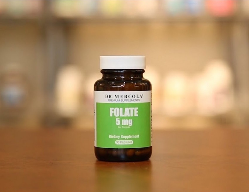 dr mercola folate methylate folate or 5-MTHF