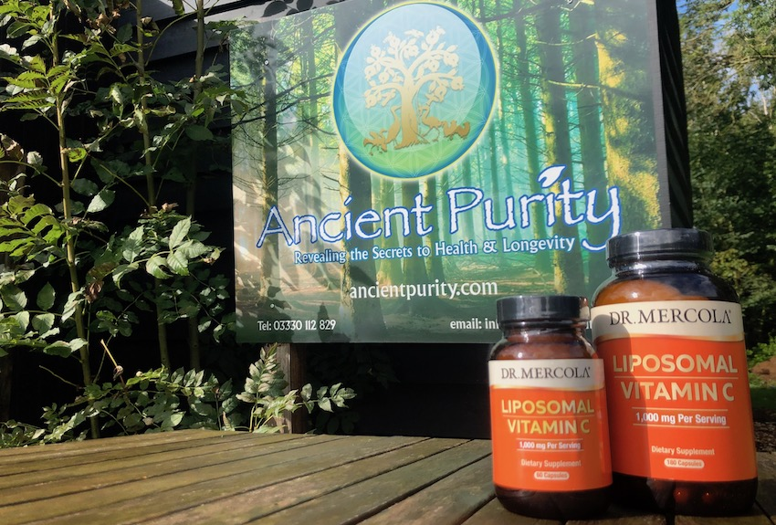 dr mercola Liposomal vitamin c supplement