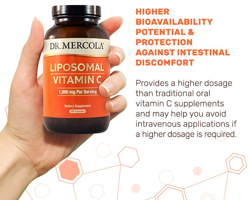 Dr Mercola Products UK, Liposomal vitamin C UK capsules, Mercola