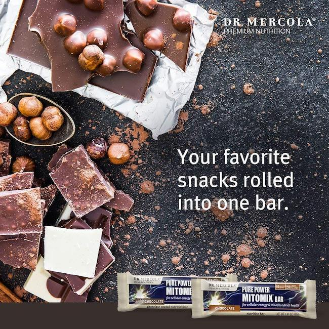 Mercola mitomix Keto chocolate bar