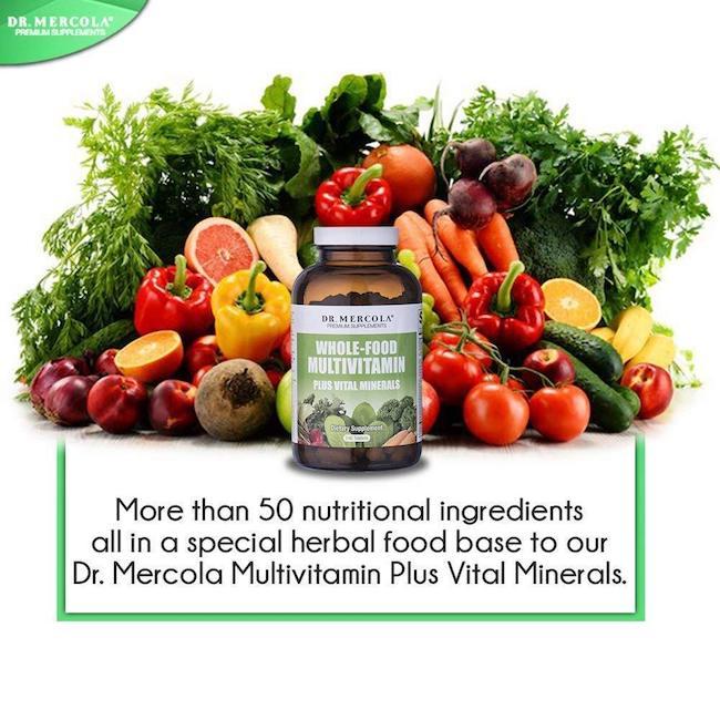dr Mercola'sMulti Vitamin Uk Minerals