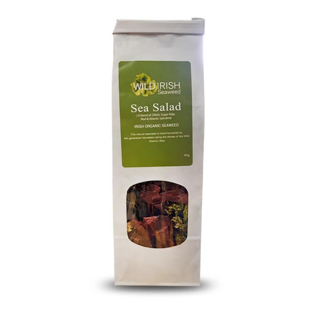 Irish wild organic seaweed superfood