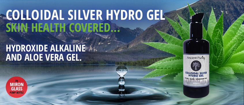 colloidal silver gel skin