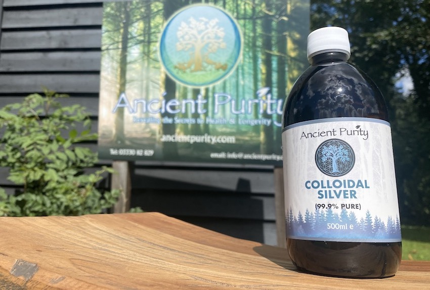 silver colloidal silver ancient purity