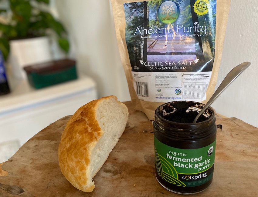 garlic puree fermented organic solspring Mercola