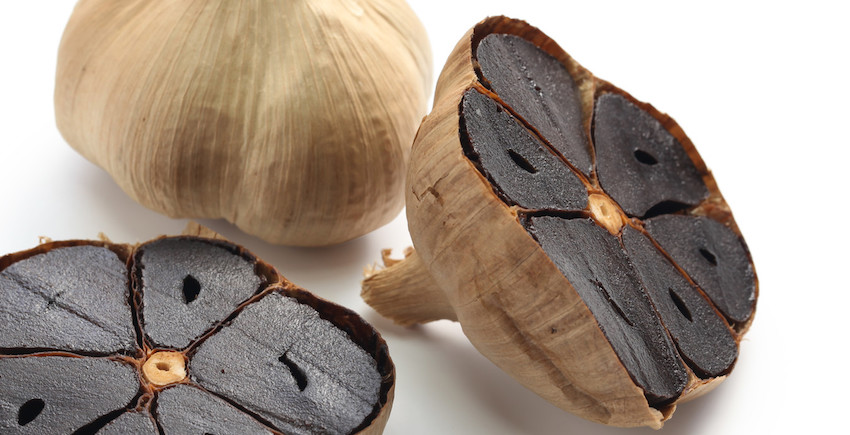 fermented organic black garlic puree solspring