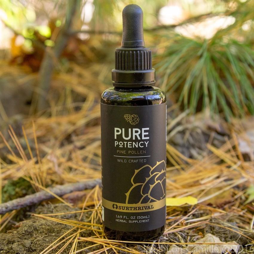 surthrival pine pollen