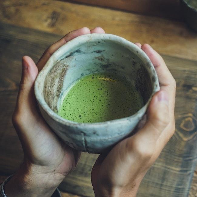 solspring matcha green tea mercola