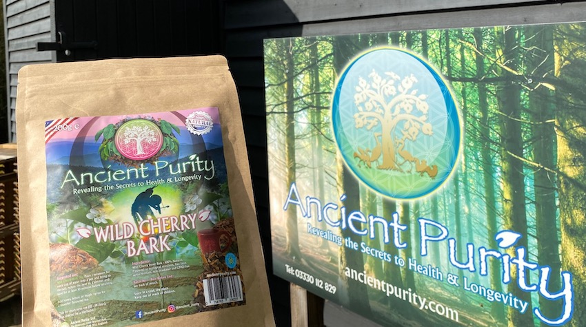 buy wild cherry bark tea UK