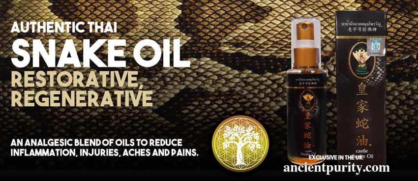 ancient purity snake oil