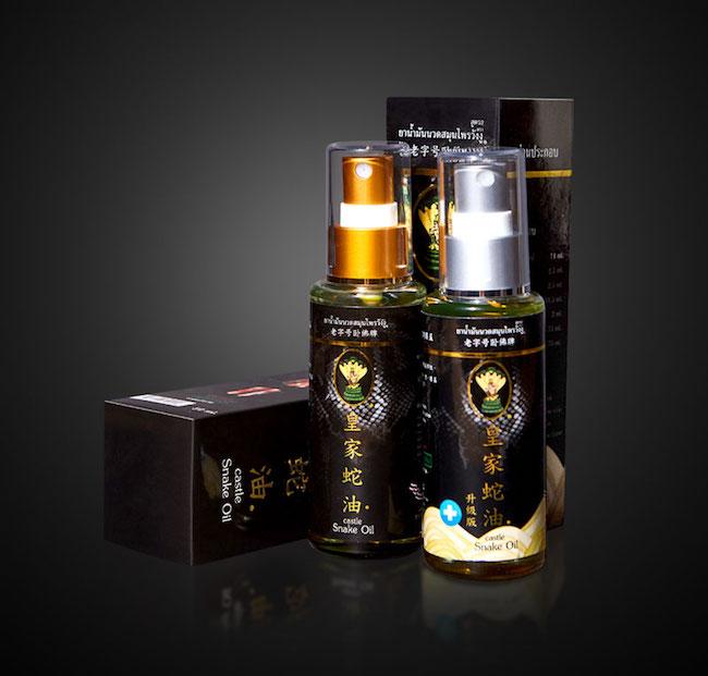 castle snake oil spray