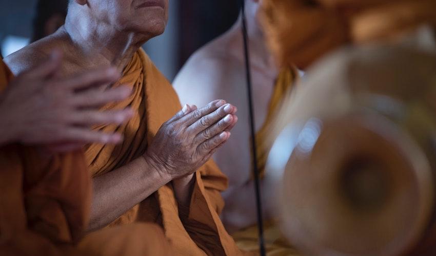temple incense Thailand