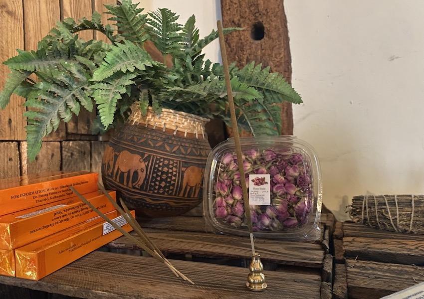 Thai temple incense