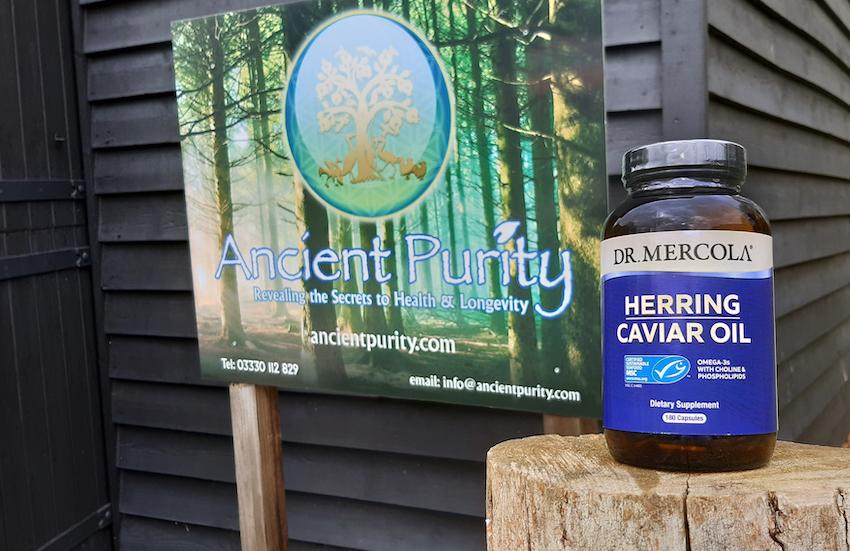 dr mercola herring caviar oil supplement UK
