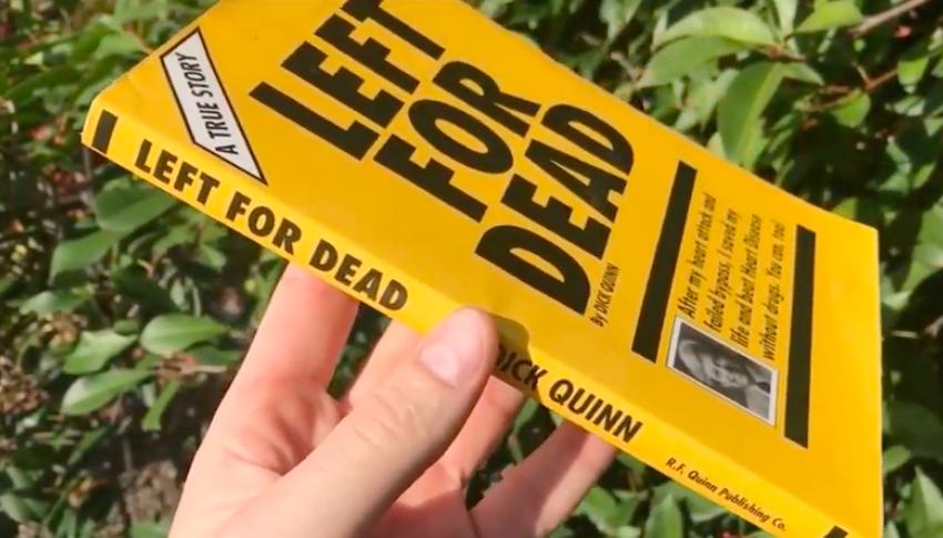 dick Quinn cayenne pepper heart health left for dead