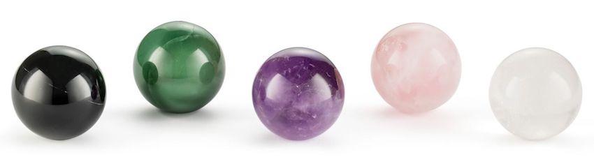 natures design gemstone carafes