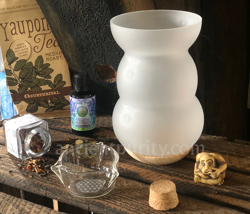 natures design incense burner oil burner diffuser sacred geometry