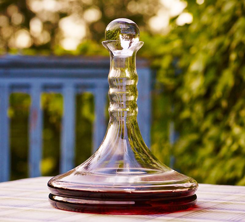natures design wine decanter