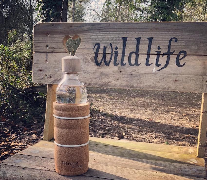 natures design water bottle