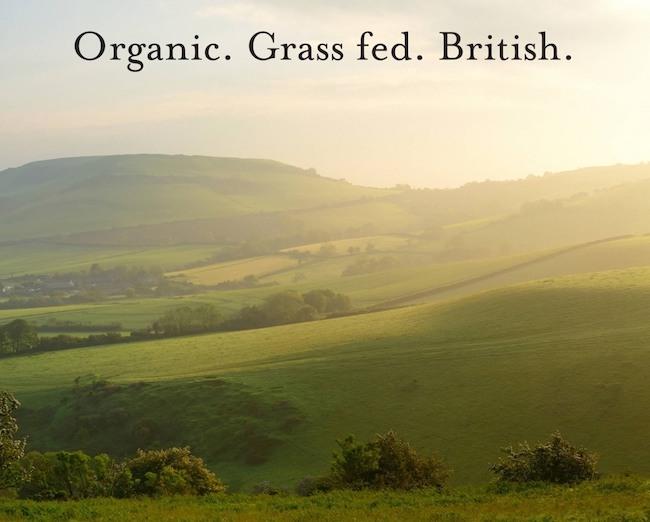 Ossa Organic collagen peptides UK farm British produced Collagen grass fed