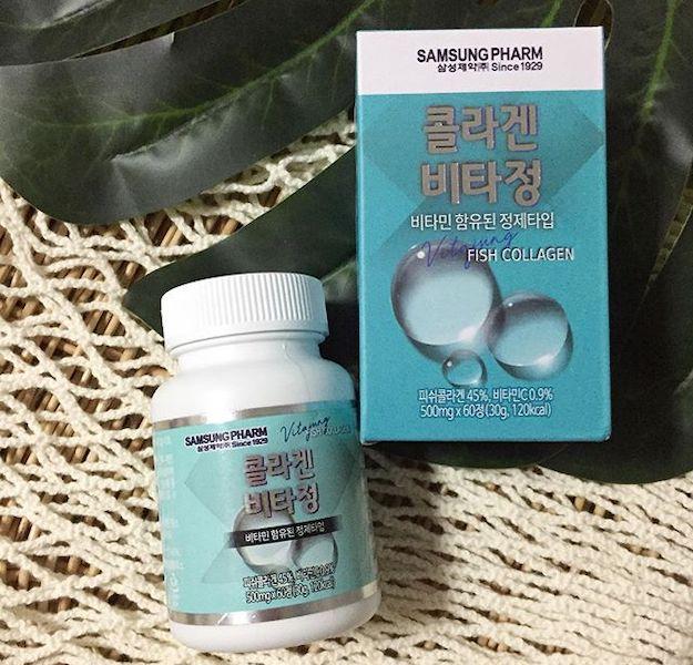 Samsung Pharma fish collagen marine South Korea