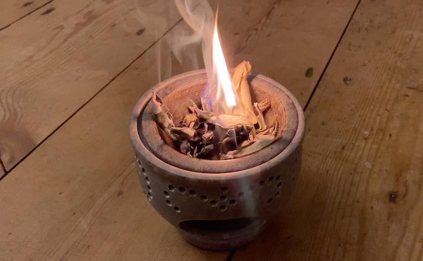soap stone aroma burner